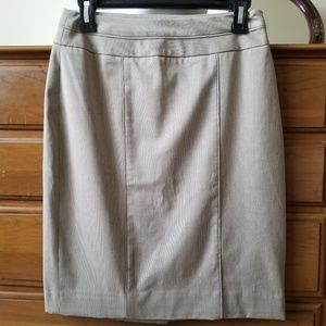 White House Black Market pencil work skirt sz 2